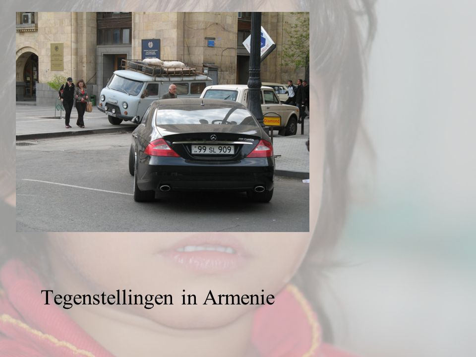 … Tegenstellingen in Armenie