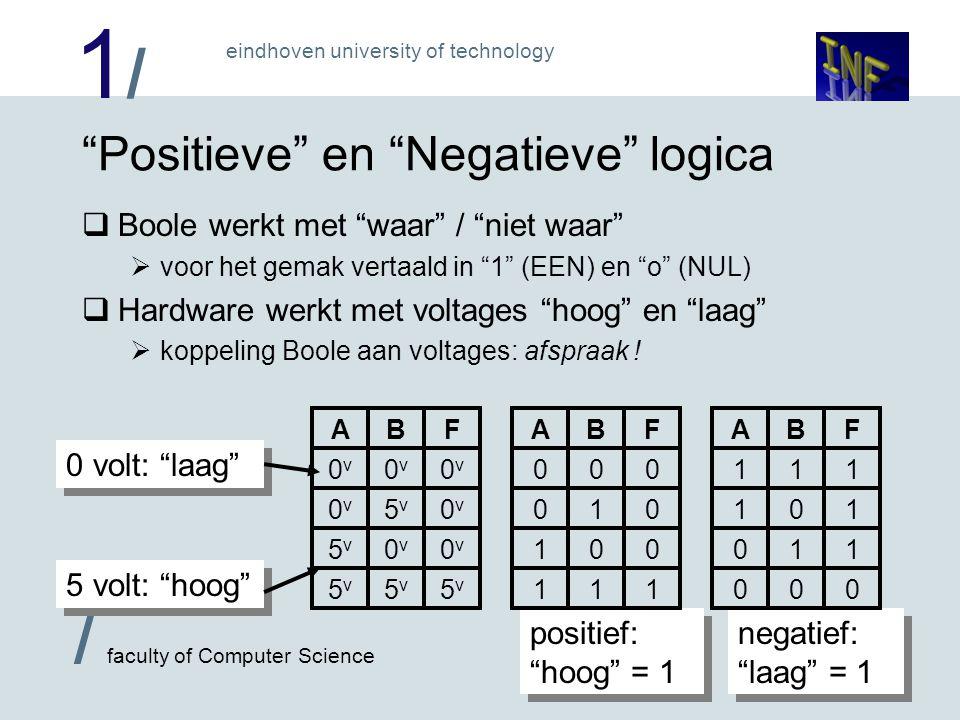 Positieve en Negatieve logica