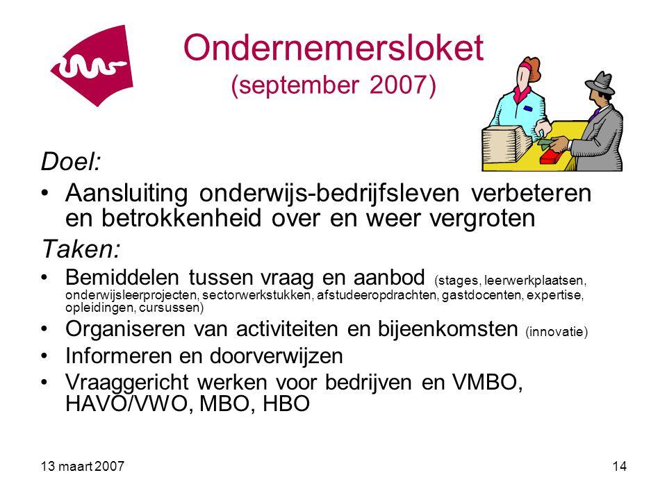 Ondernemersloket (september 2007)