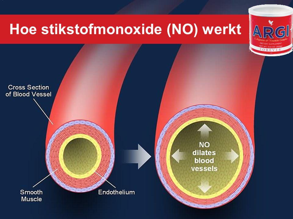 Hoe stikstofmonoxide (NO) werkt