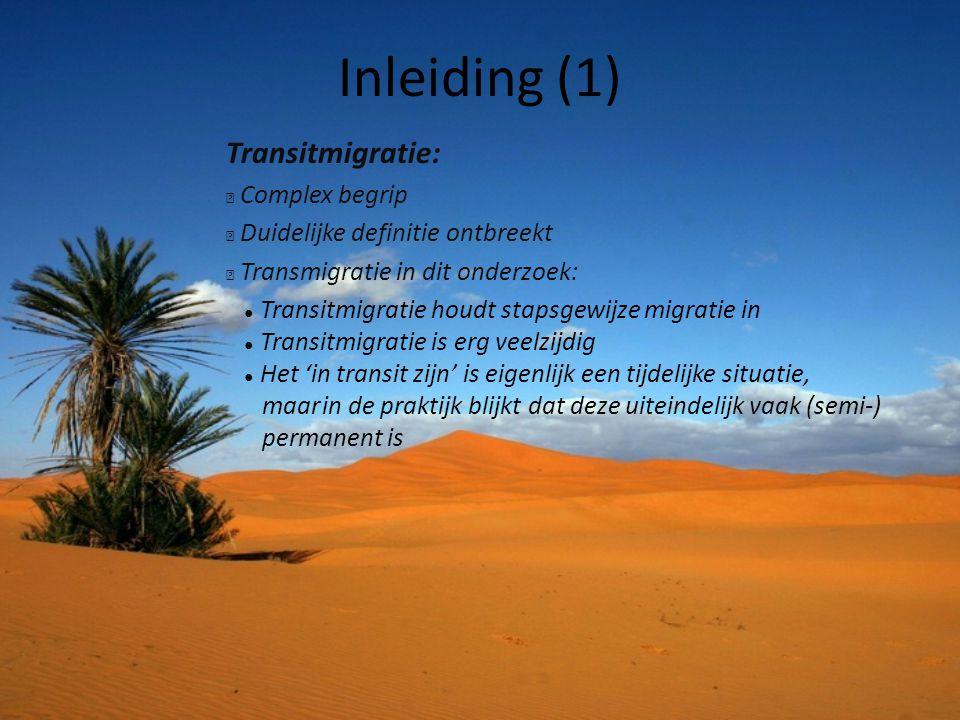 Inleiding (1) Transitmigratie: