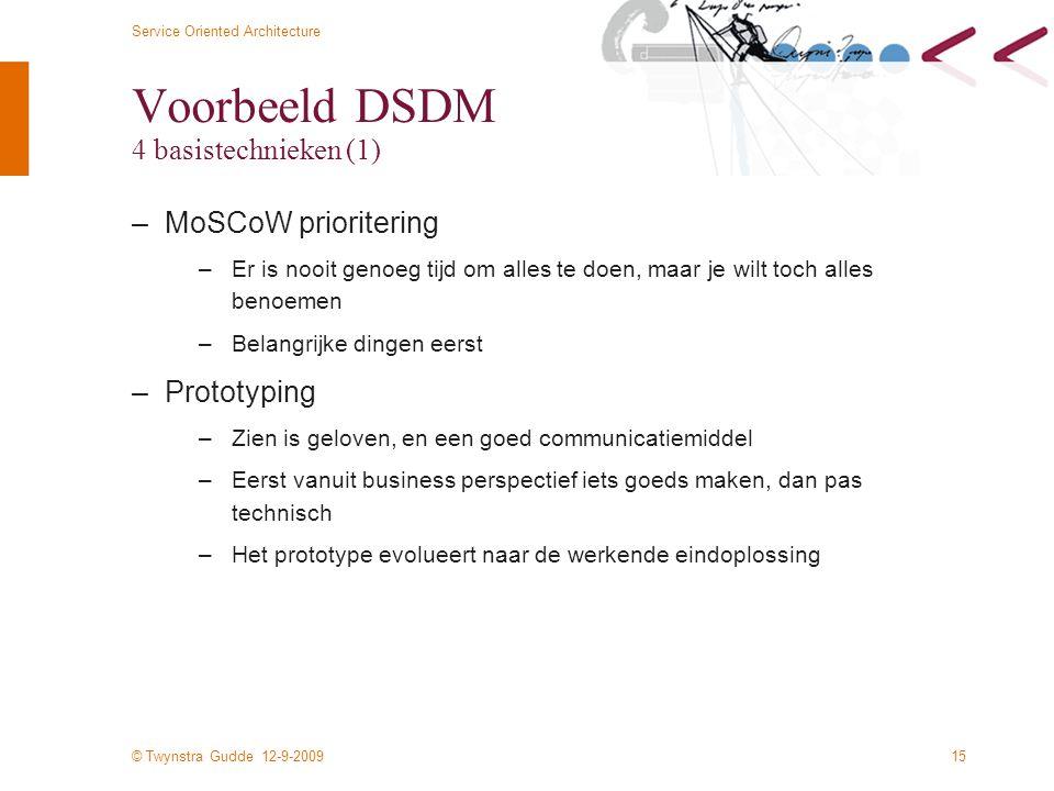 Voorbeeld DSDM 4 basistechnieken (1)