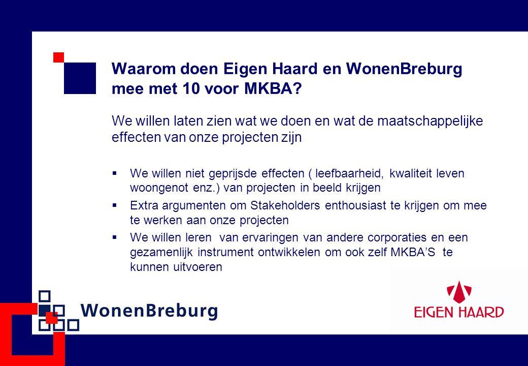 Waarom doen Eigen Haard en WonenBreburg mee met 10 voor MKBA