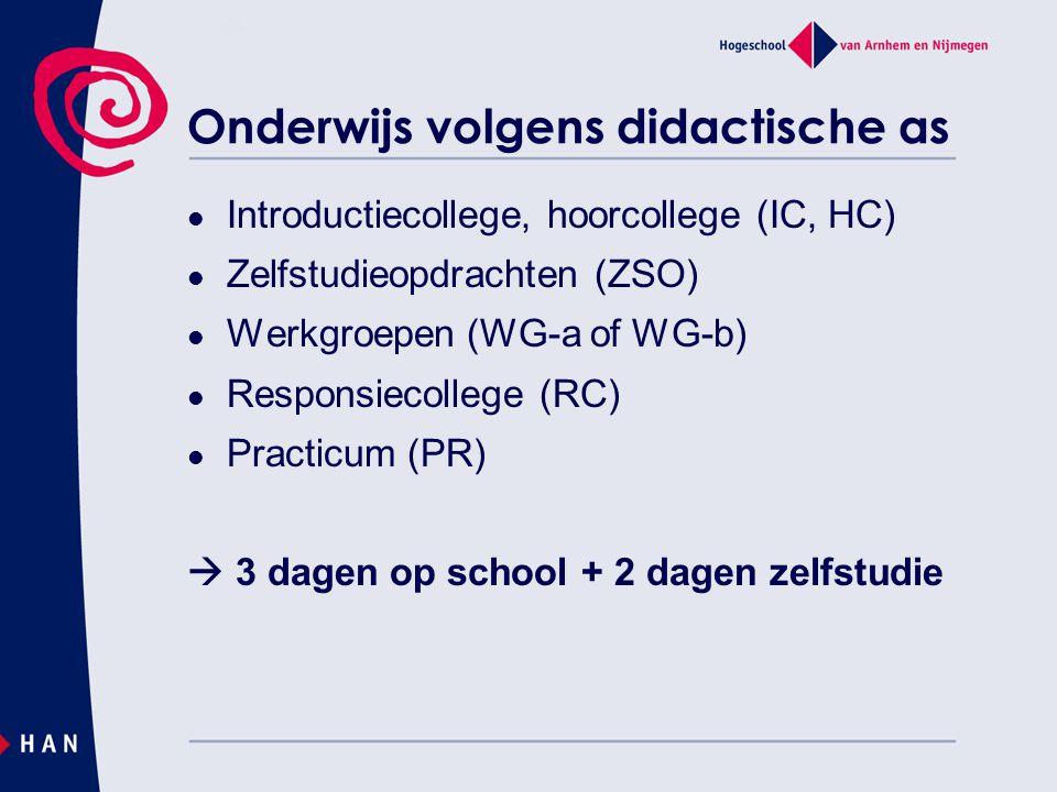 Onderwijs volgens didactische as