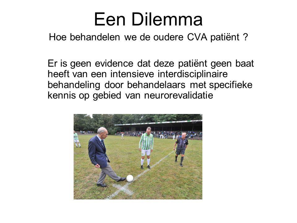 Hoe behandelen we de oudere CVA patiënt
