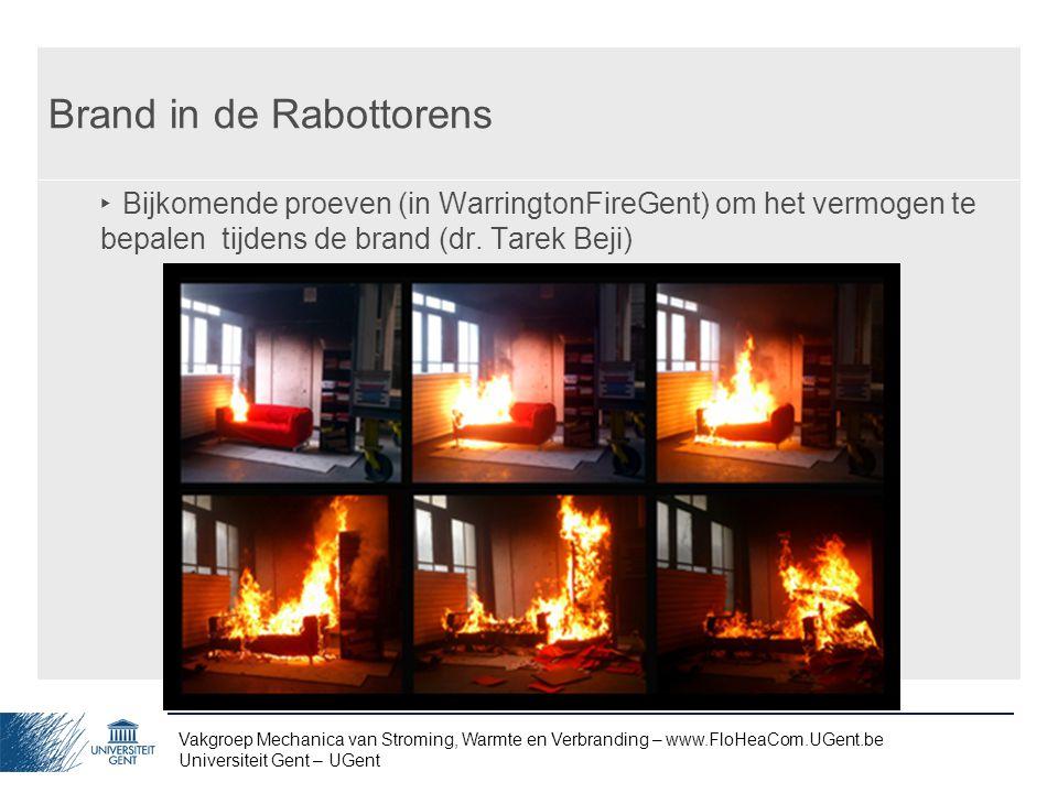 Brand in de Rabottorens