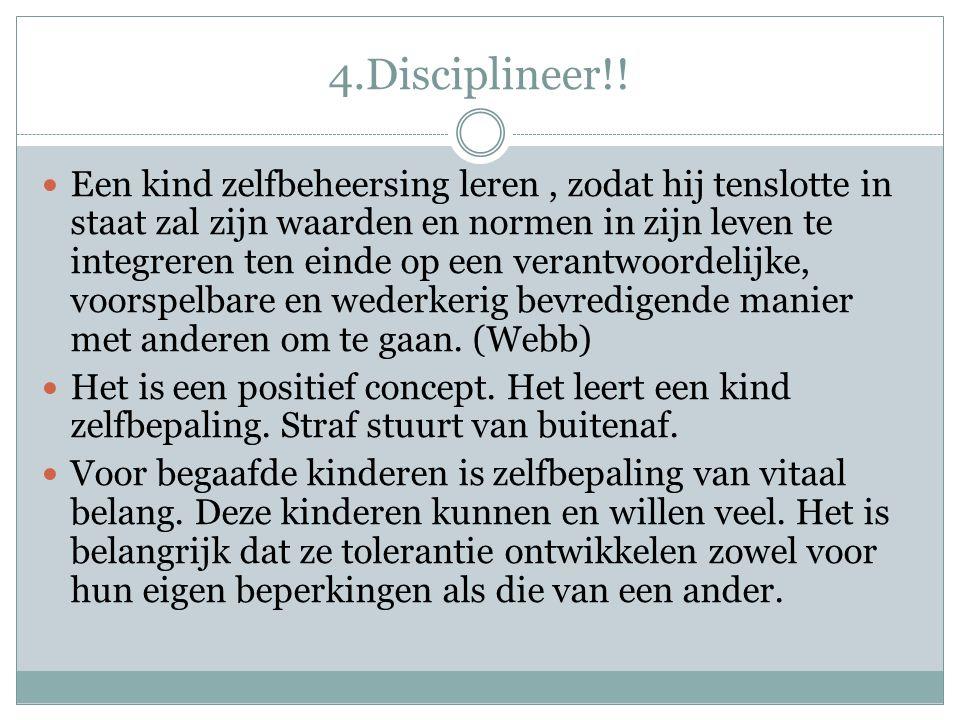4.Disciplineer!!