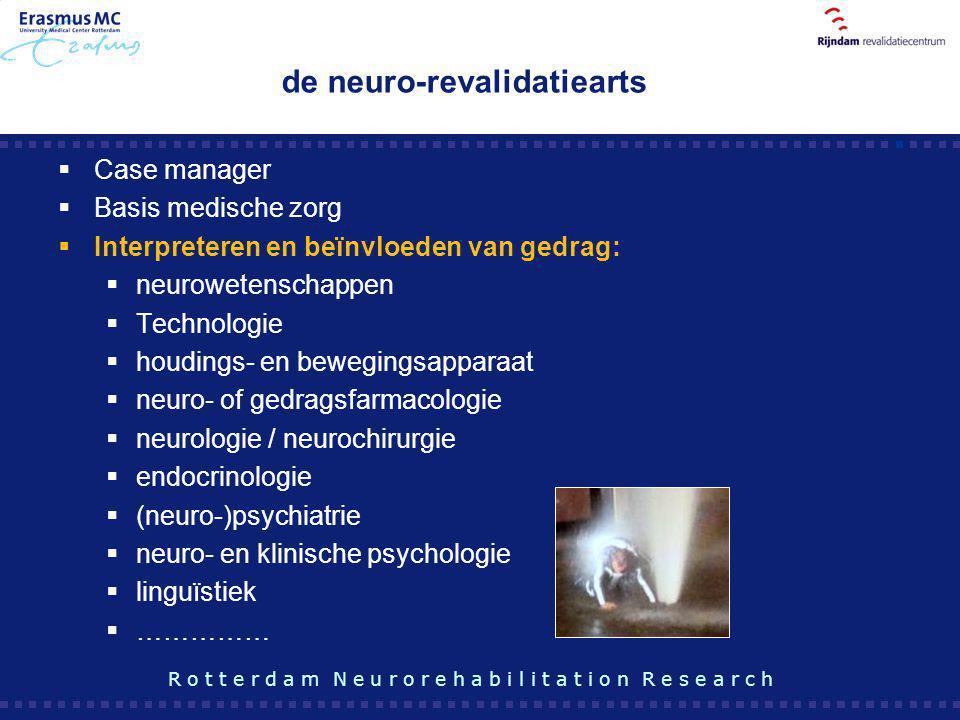 de neuro-revalidatiearts
