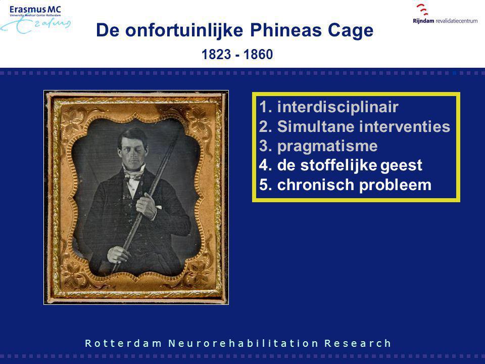 De onfortuinlijke Phineas Cage 1823 - 1860