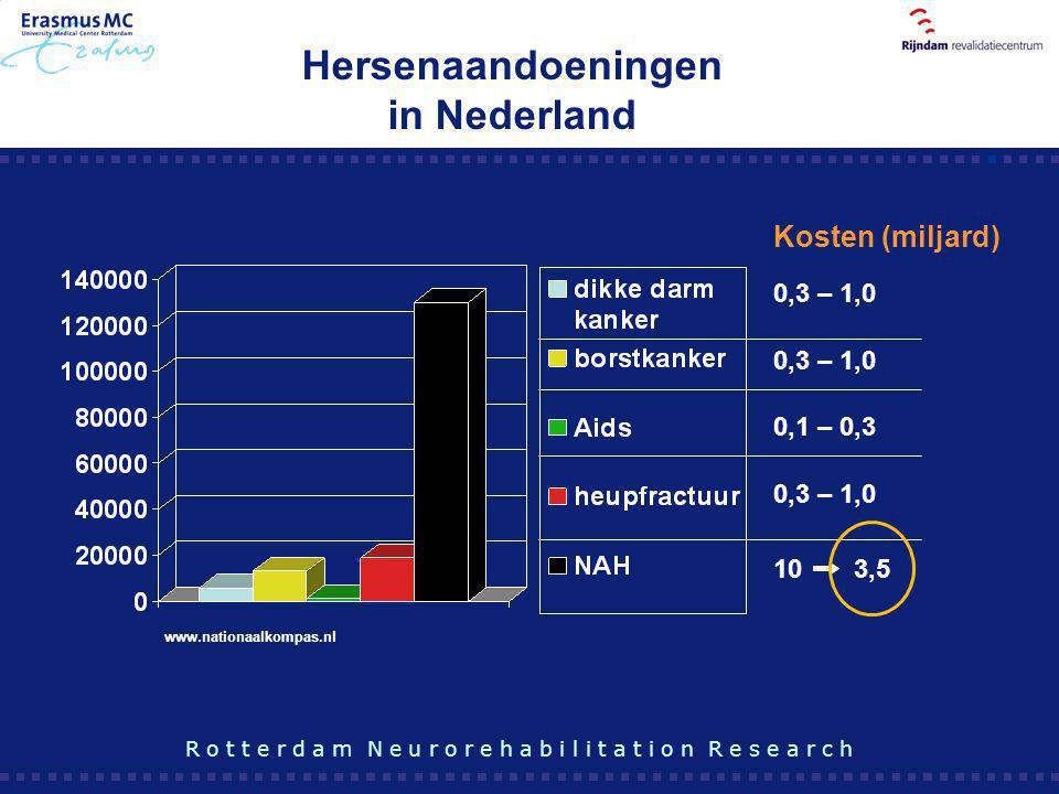 Hersenaandoeningen in Nederland