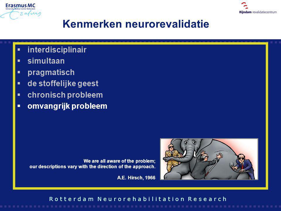 Kenmerken neurorevalidatie