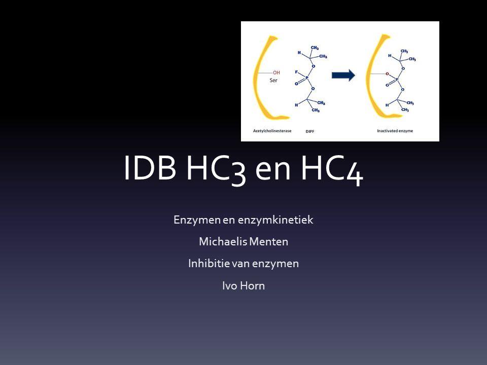 Enzymen en enzymkinetiek