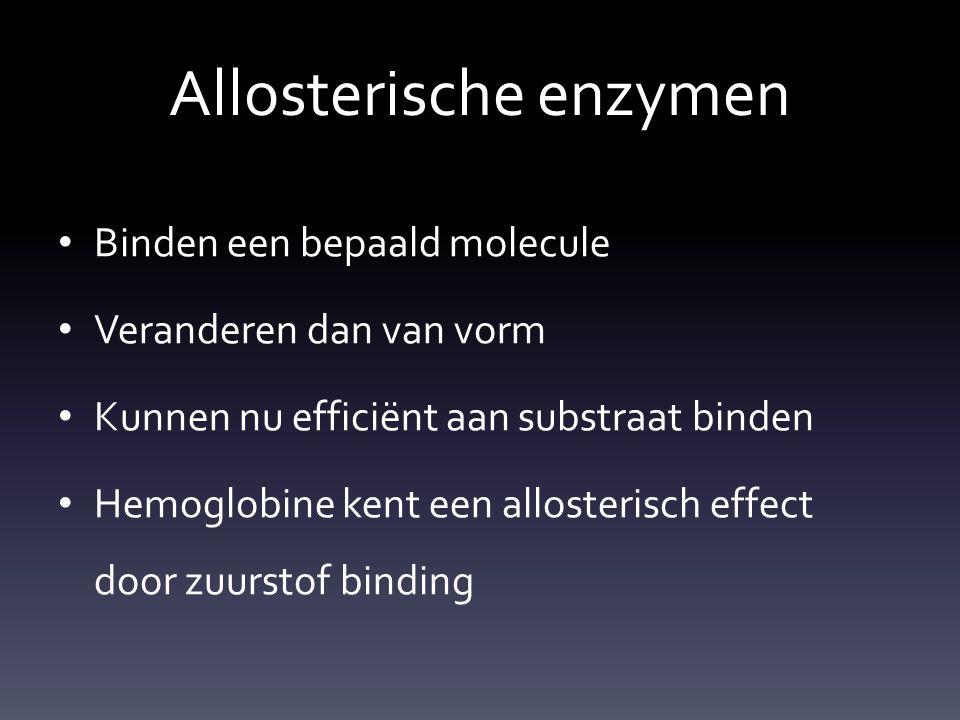 Allosterische enzymen
