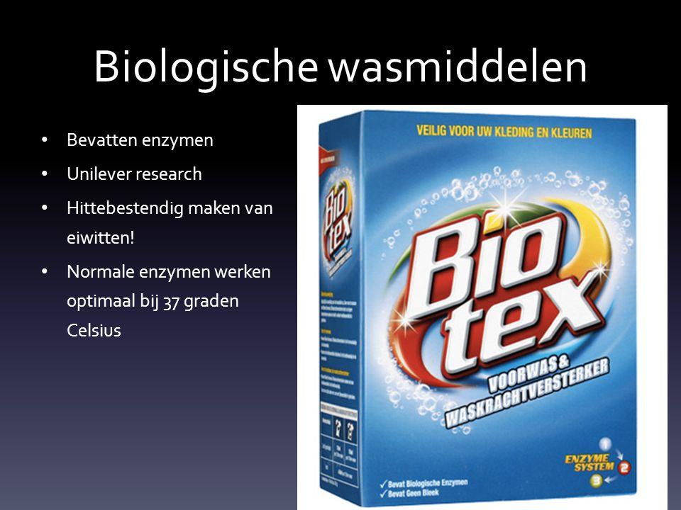 Biologische wasmiddelen
