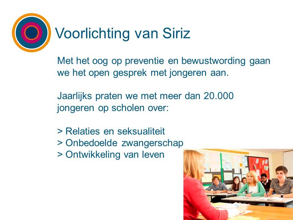 Voorlichting van Siriz