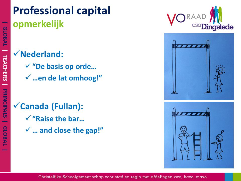 Professional capital opmerkelijk