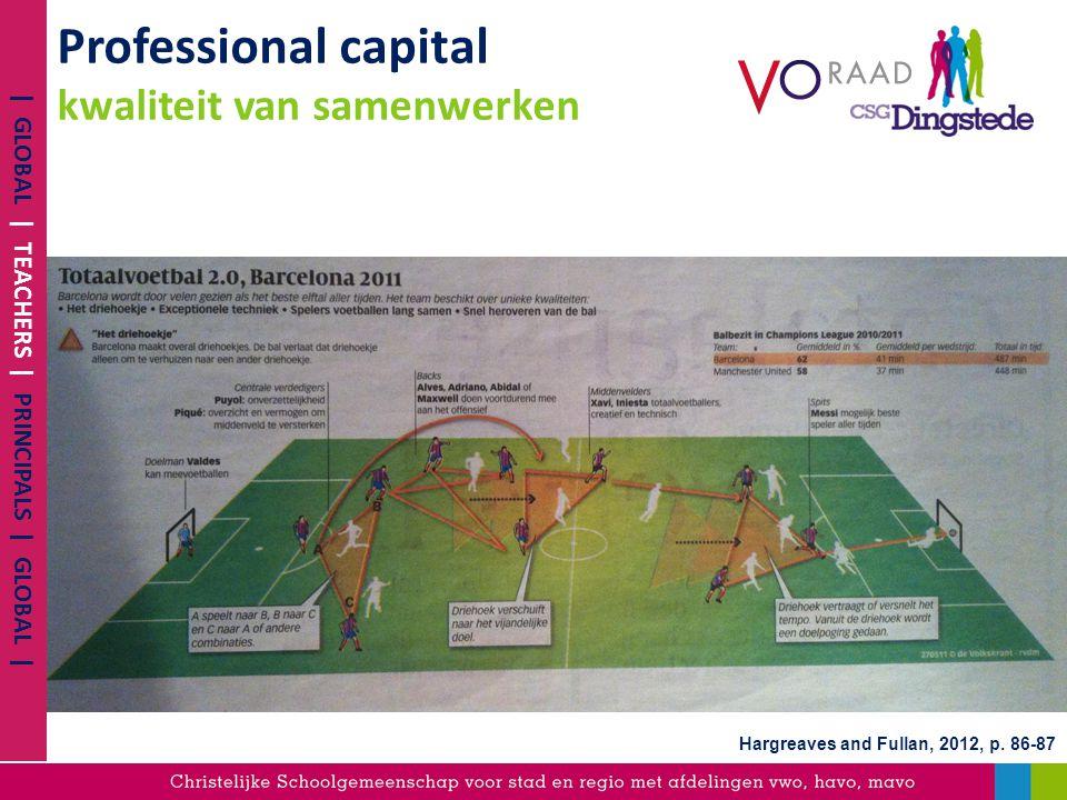 Professional capital kwaliteit van samenwerken