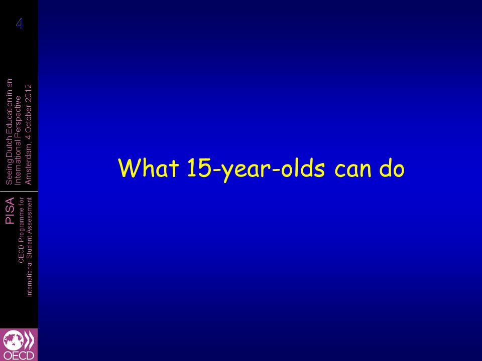 What 15-year-olds can do