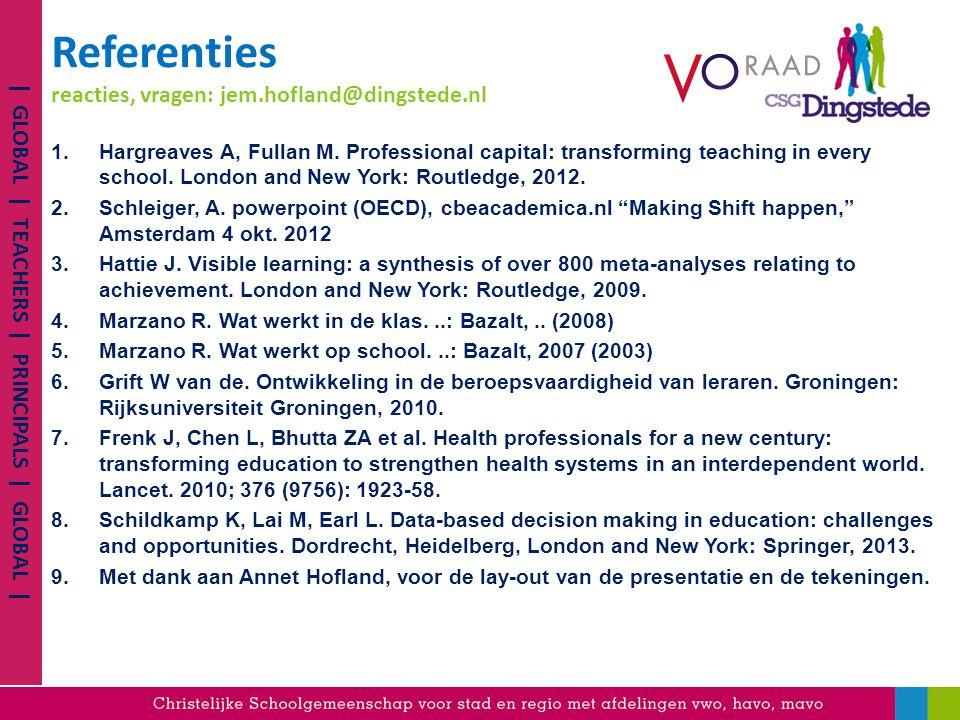 Referenties reacties, vragen: jem.hofland@dingstede.nl