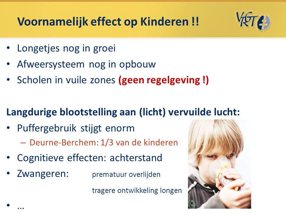 Voornamelijk effect op Kinderen !!