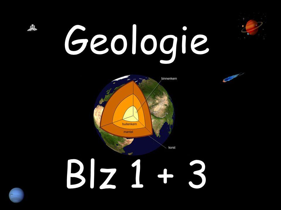 Geologie Blz 1 + 3