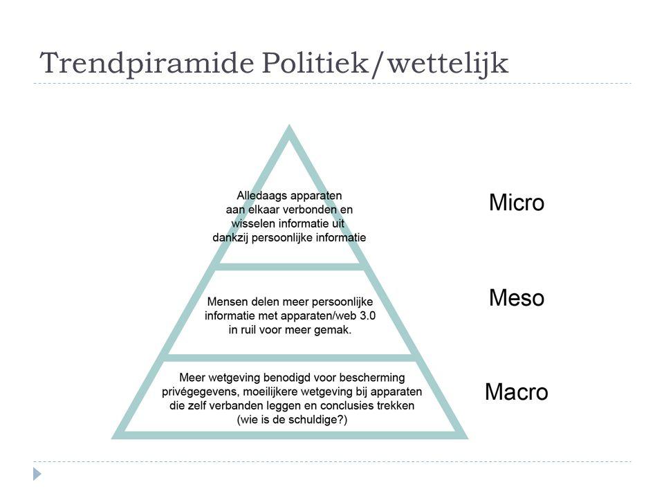 Trendpiramide Politiek/wettelijk