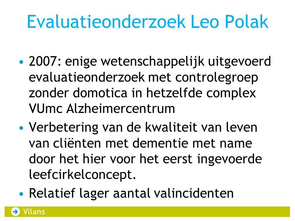 Evaluatieonderzoek Leo Polak