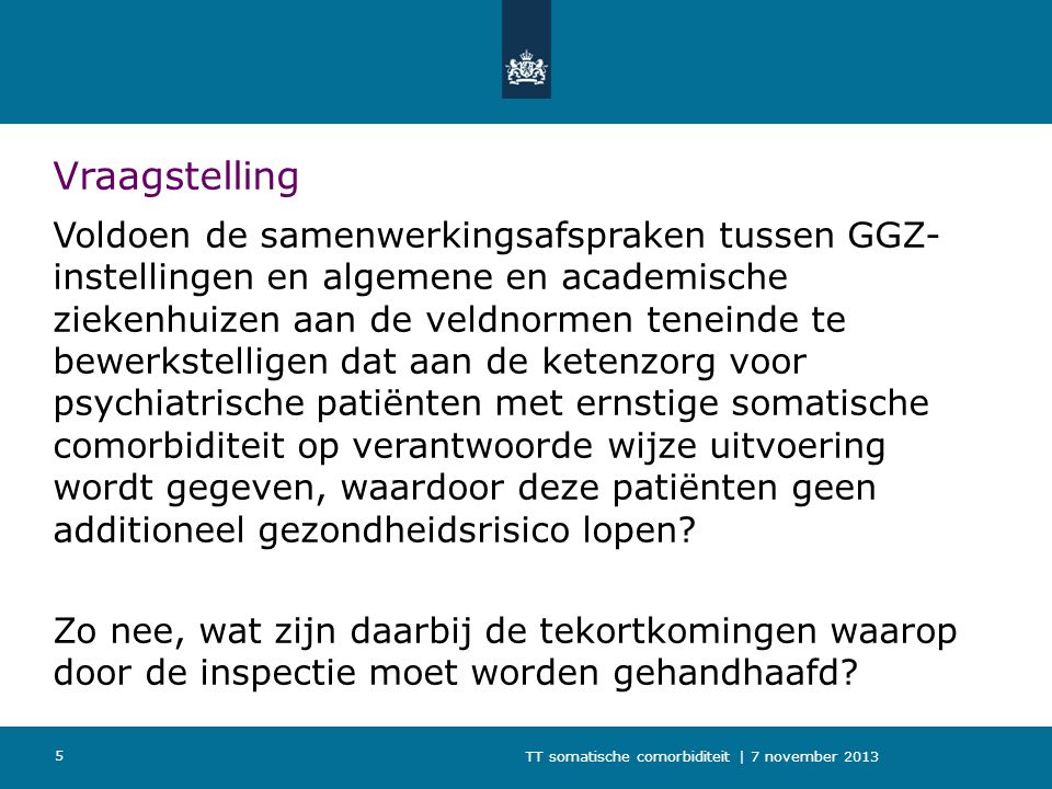 Vraagstelling