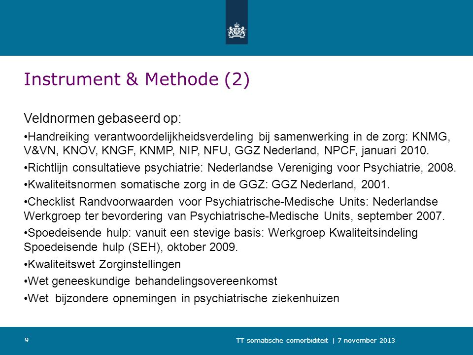 Instrument & Methode (2)