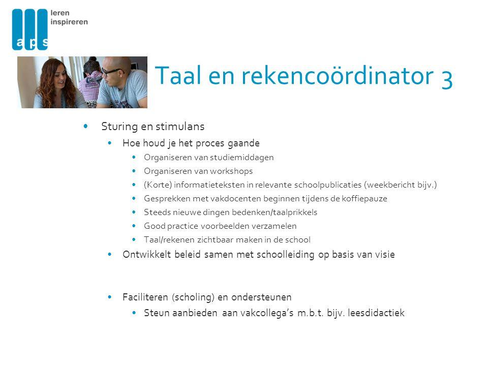 Taal en rekencoördinator 3