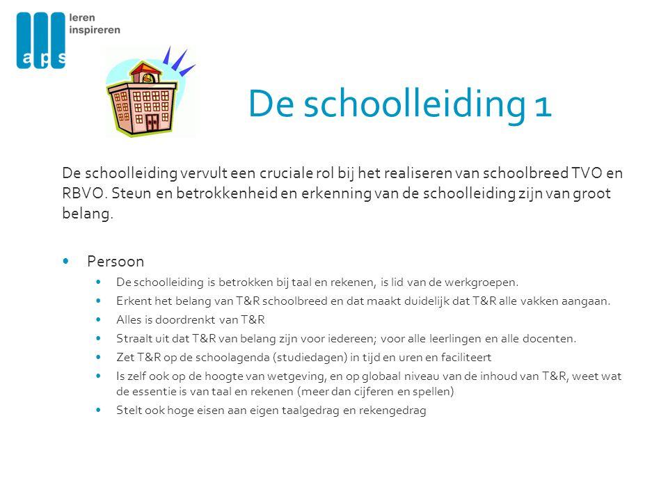 De schoolleiding 1
