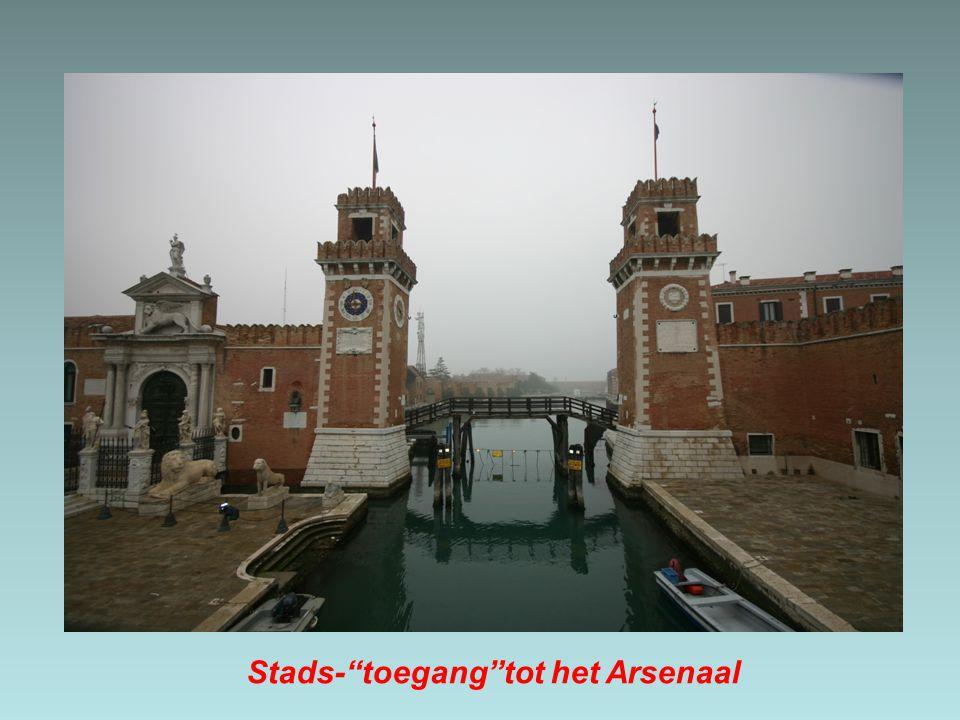 Stads- toegang tot het Arsenaal