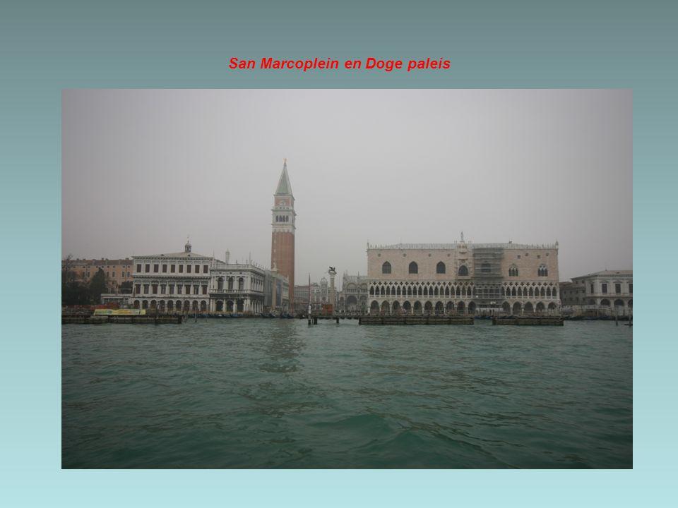 San Marcoplein en Doge paleis