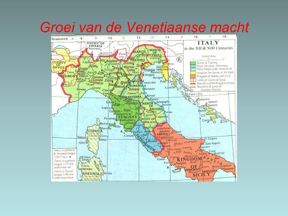 Groei van de Venetiaanse macht