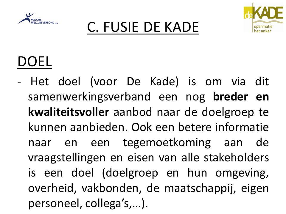 C. FUSIE DE KADE DOEL.
