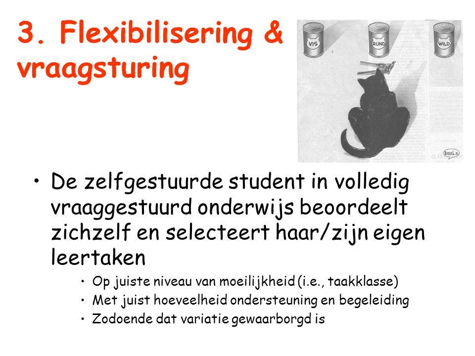 3. Flexibilisering & vraagsturing