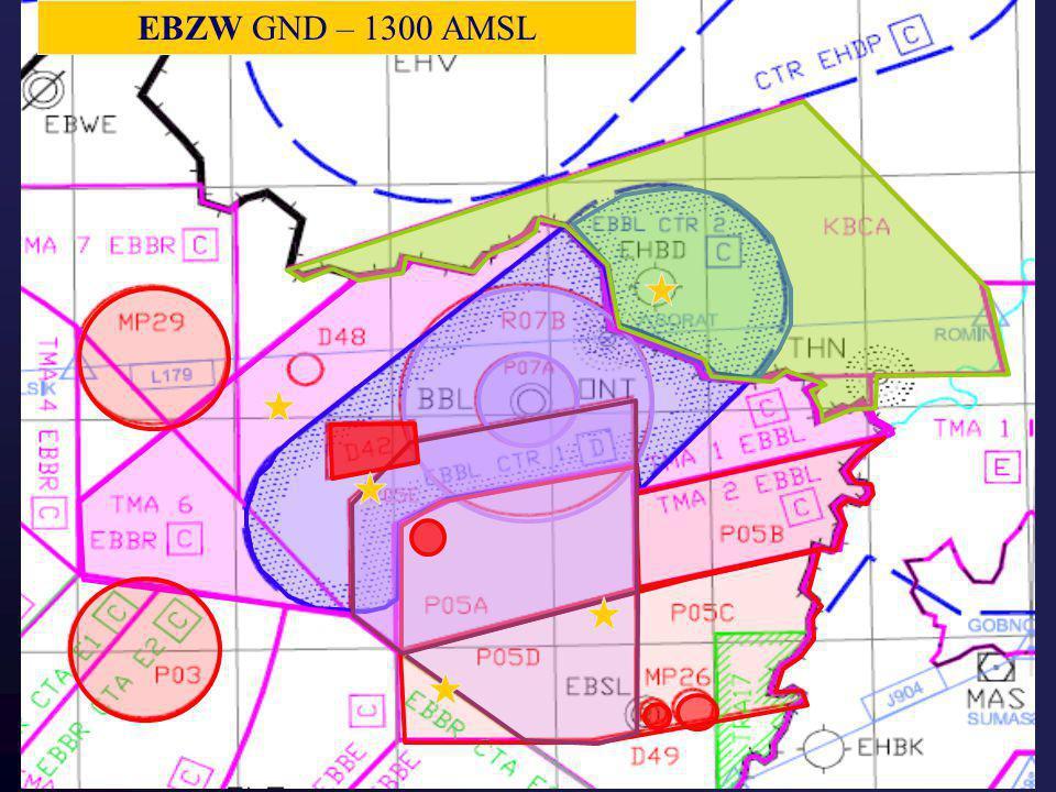 D45 GND – 1200 AGL D49 GND – 2000 AGL. MP26 GND – 3000 AGL. MP29 GND – 4500 AGL. D42 GND – 5000 AGL.