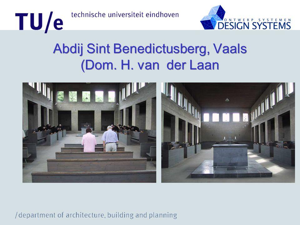 Abdij Sint Benedictusberg, Vaals (Dom. H. van der Laan