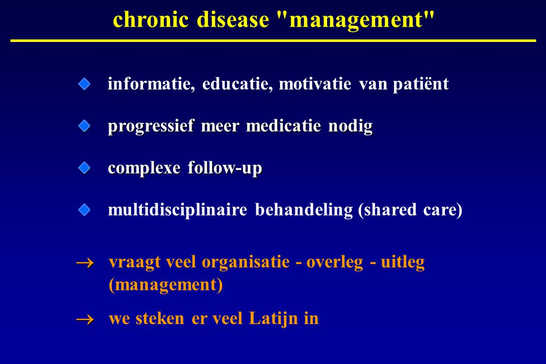 Health and Chronic Disease Management - NUR 427