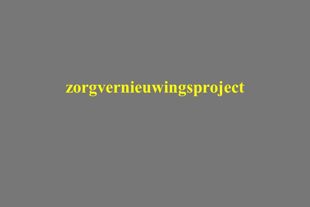 zorgvernieuwingsproject