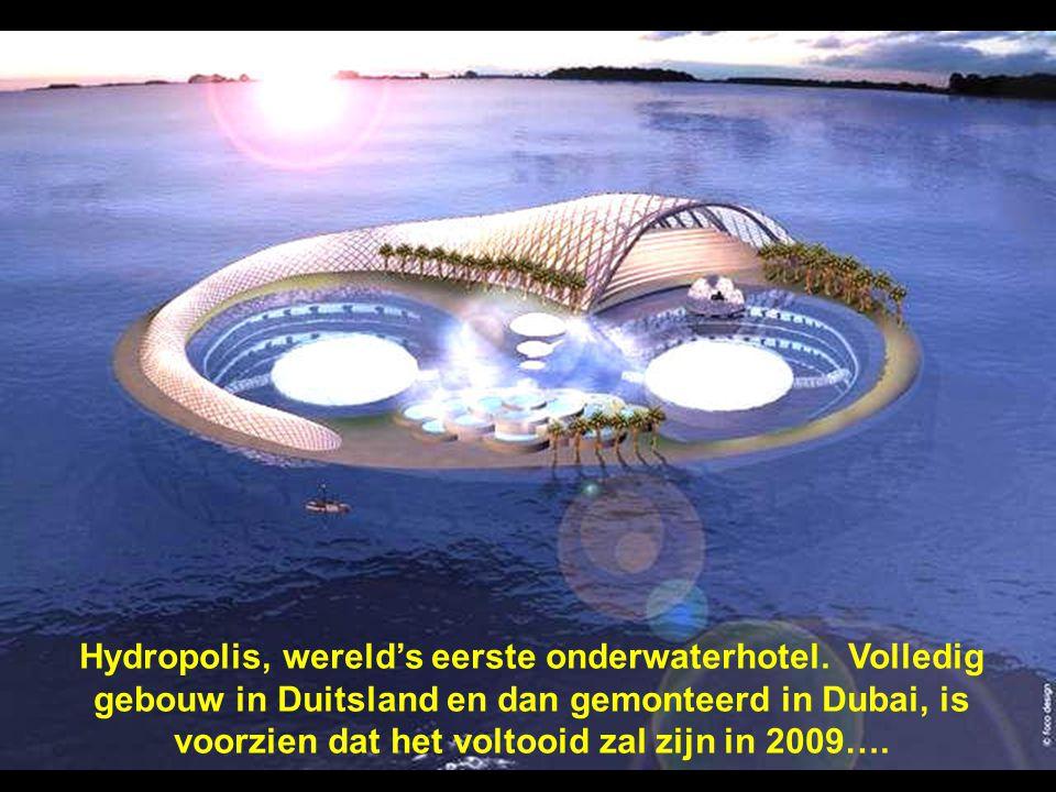 Hydropolis, wereld's eerste onderwaterhotel
