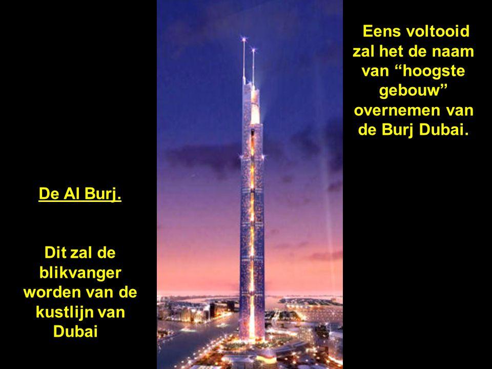 Dit zal de blikvanger worden van de kustlijn van Dubai