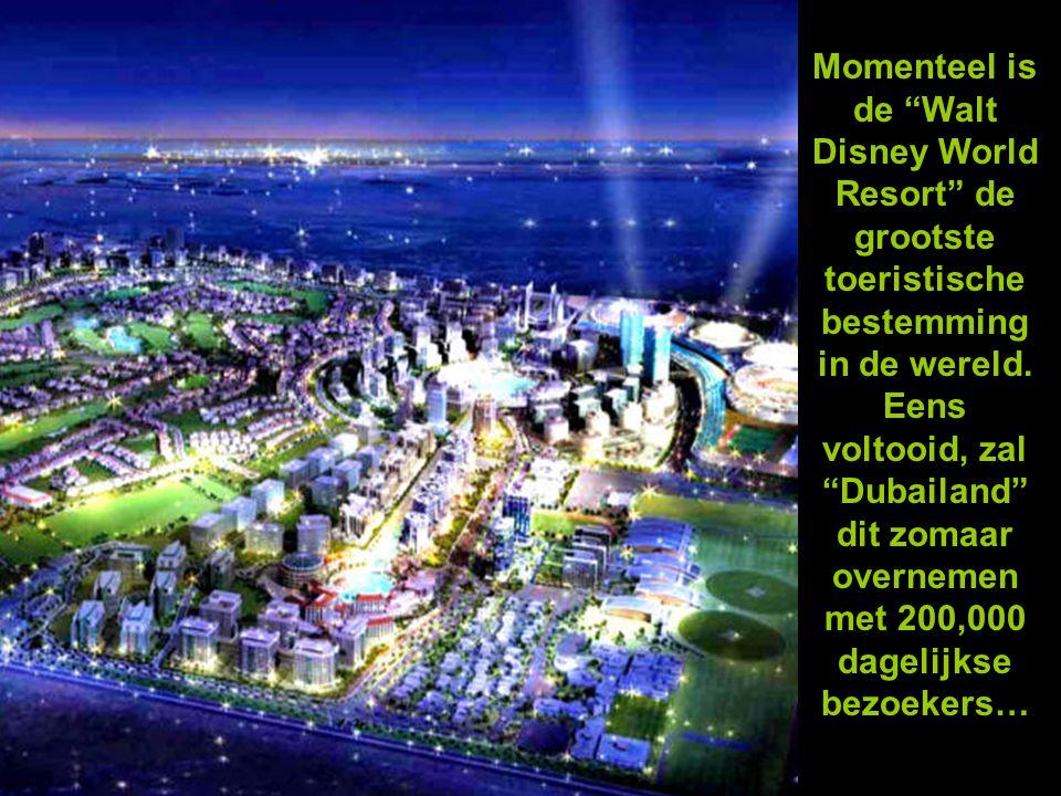 Momenteel is de Walt Disney World Resort de grootste toeristische bestemming in de wereld.