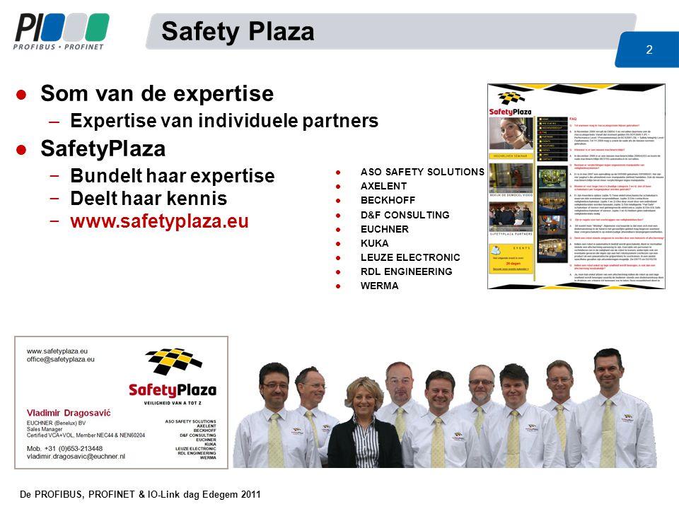Safety Plaza Som van de expertise SafetyPlaza