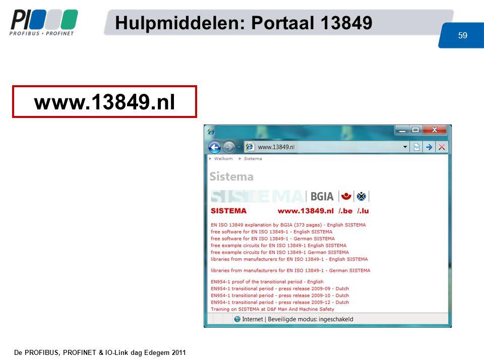 Hulpmiddelen: Portaal 13849