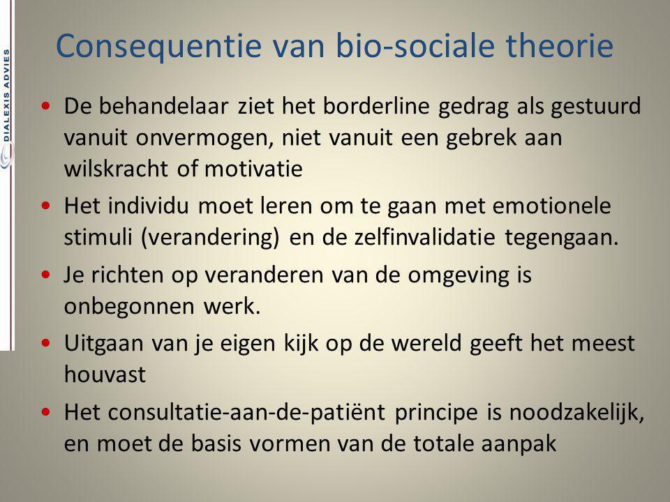 Consequentie van bio-sociale theorie