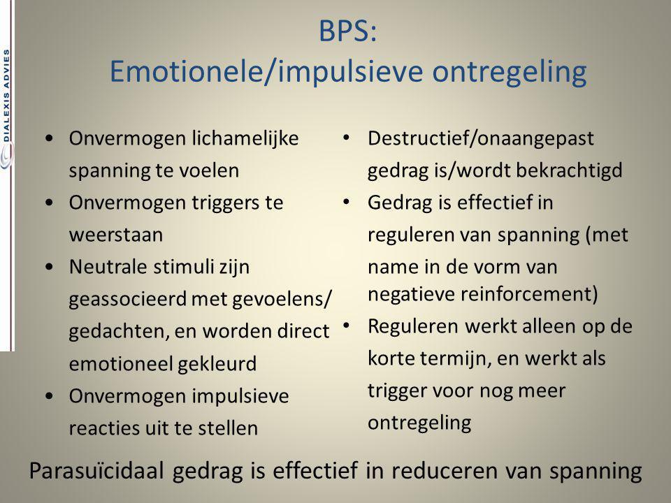 Emotionele/impulsieve ontregeling
