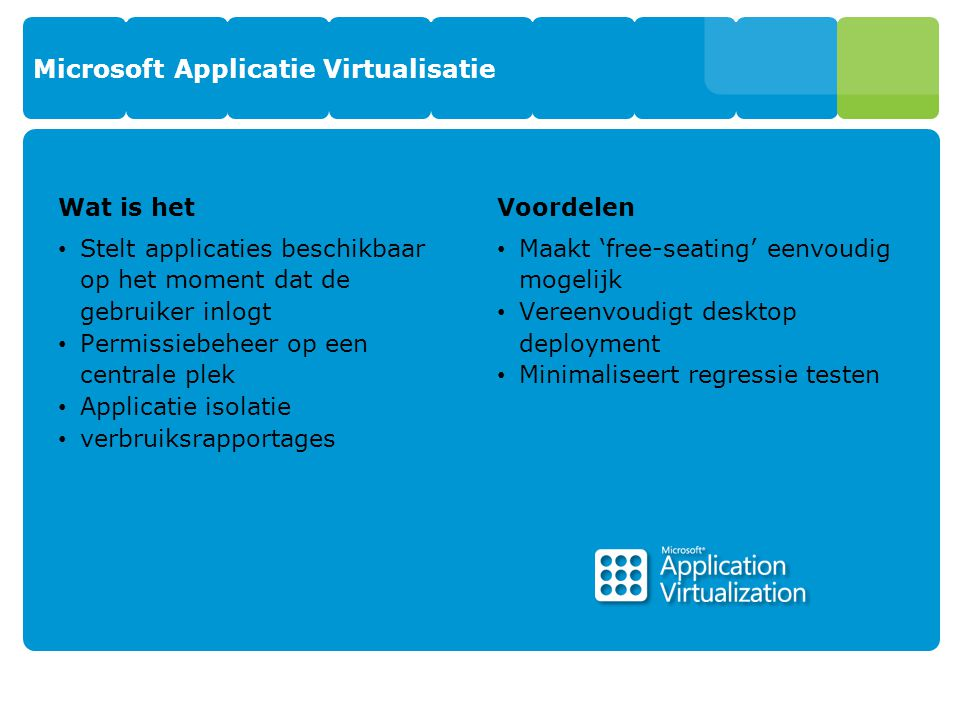Microsoft Applicatie Virtualisatie