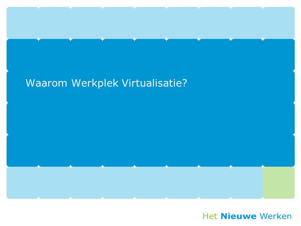 Waarom Werkplek Virtualisatie