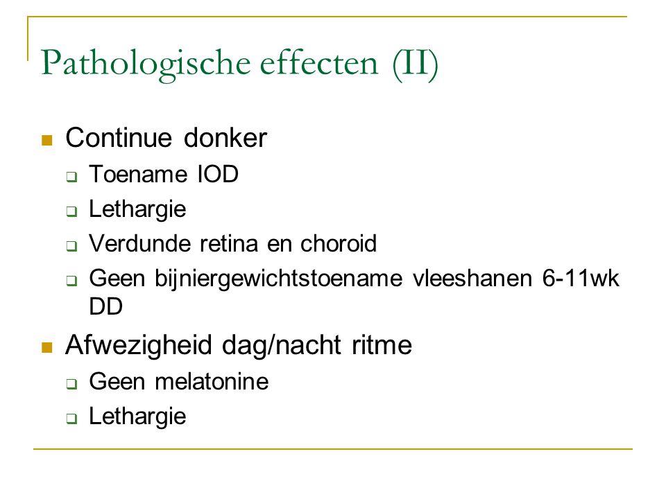 Pathologische effecten (II)